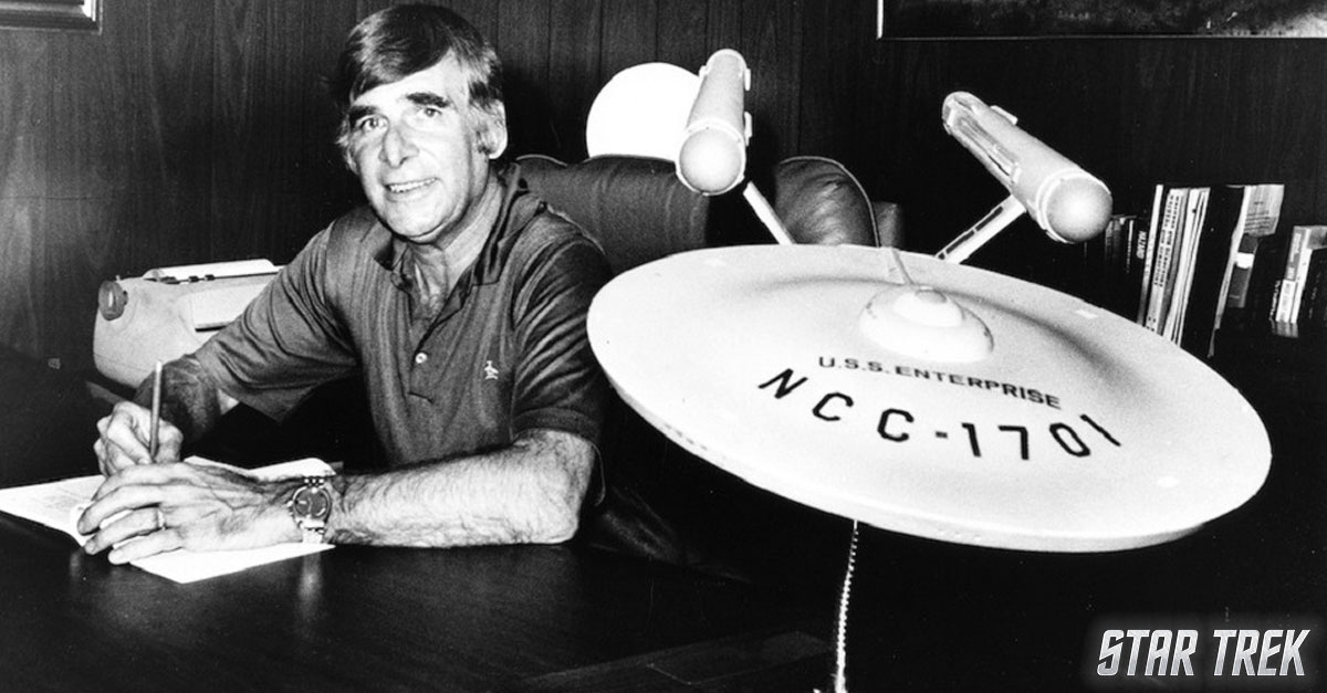 We remember Gene Roddenberry, #StarTrek creator, on what would have been his 95th birthday https://t.co/ZprEqhBFqb