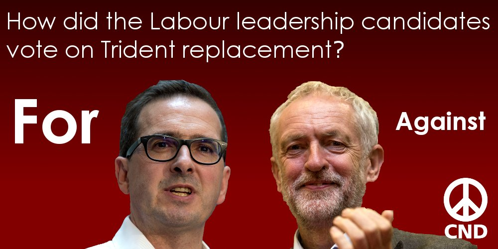 Corbyn, Smith and Trident
