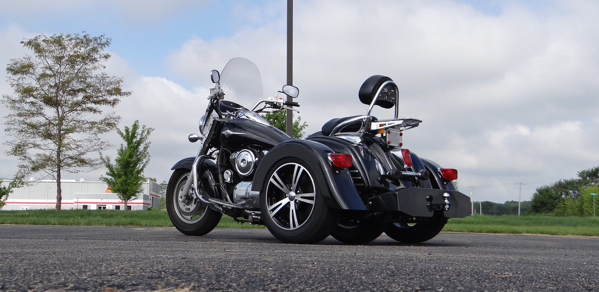 Get a trike kit installed on your motorcycle today, or shipped to your house FREE (up to a $450 value) #kawtrikekit https://t.co/8SXPHj3ENE
