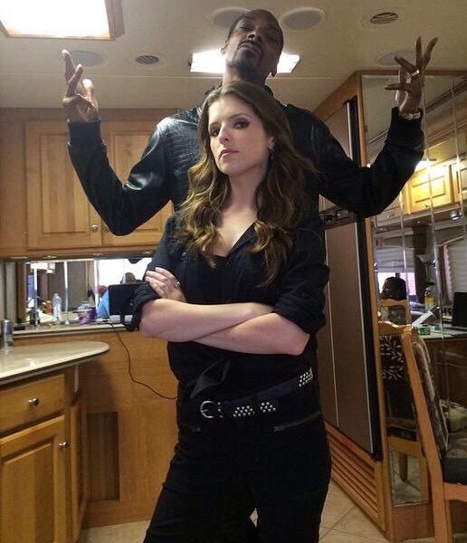 Image result for aNNA KENDRICK SNOOP DOGG