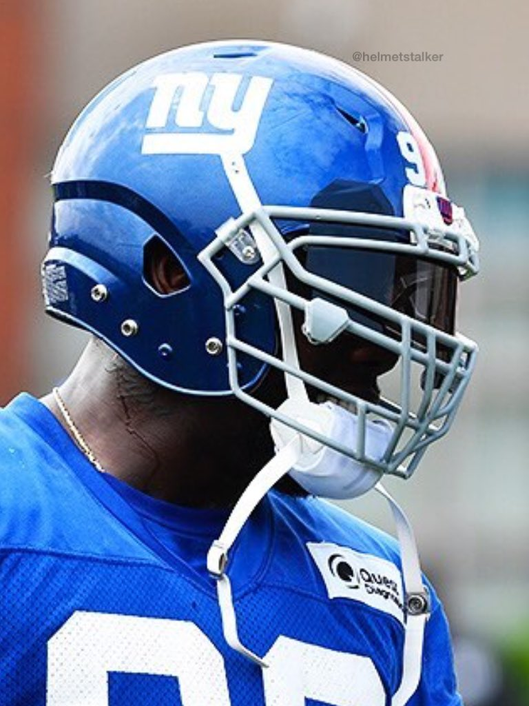 "Helmet Stalker on Twitter ""Giants DE Jason Pierre Paul is now in"