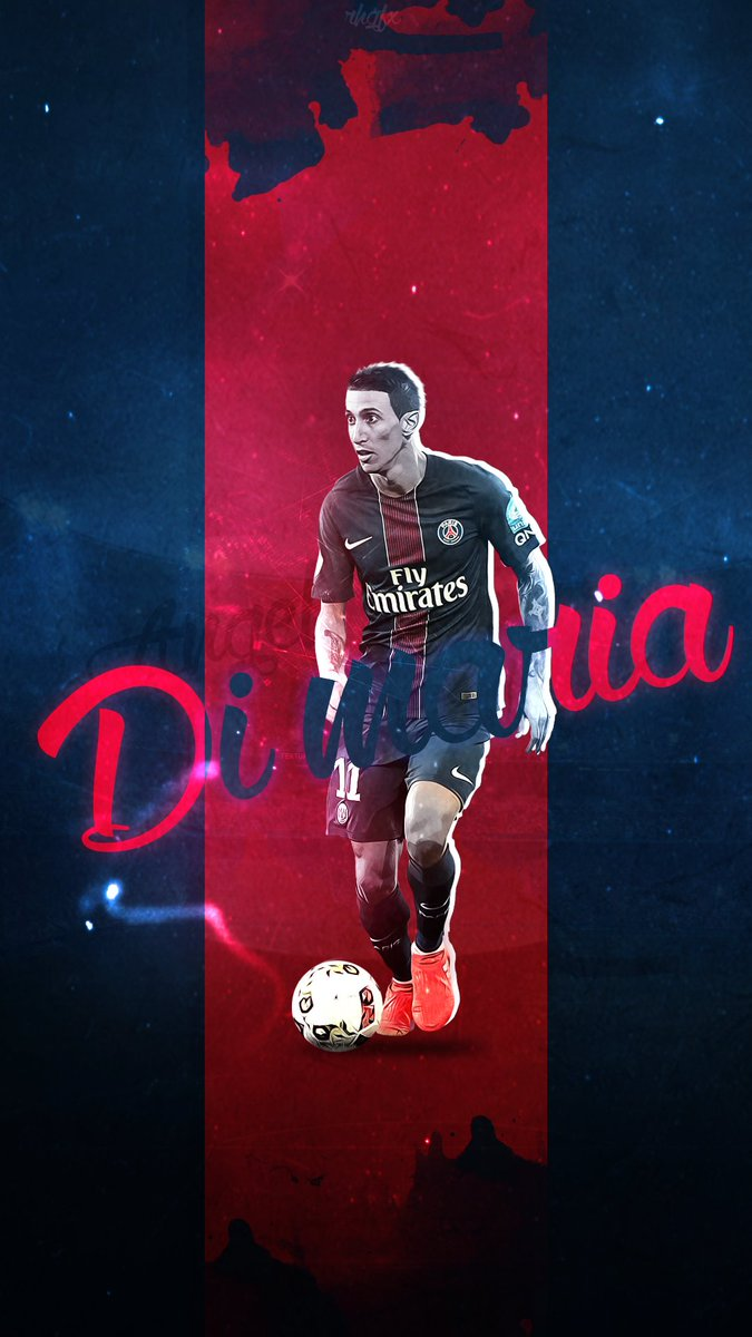 RHGFX On Twitter Angel Di Maria I Wallpaper PSG Mobile