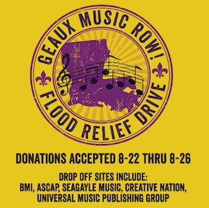 RT @MusicRow You Can Help: Nashville Music Community Rallies to Aid Louisiana FloodingVictims https://t.co/6OqotmUdq4