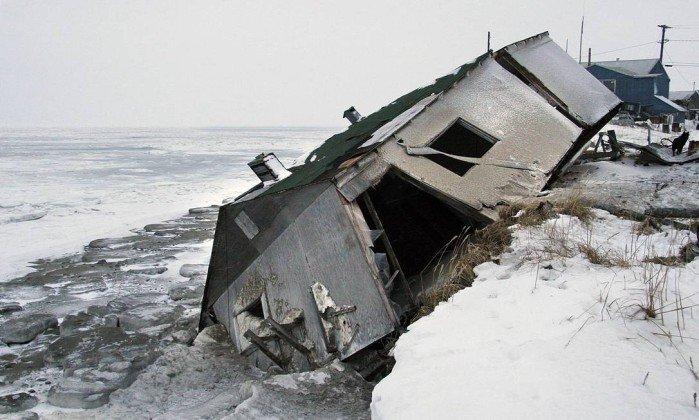#Sociedade Ameaçada pela elevação dos mares, vila indígena no Alasca vai se mudar. https://t.co/spoBJXEpaT