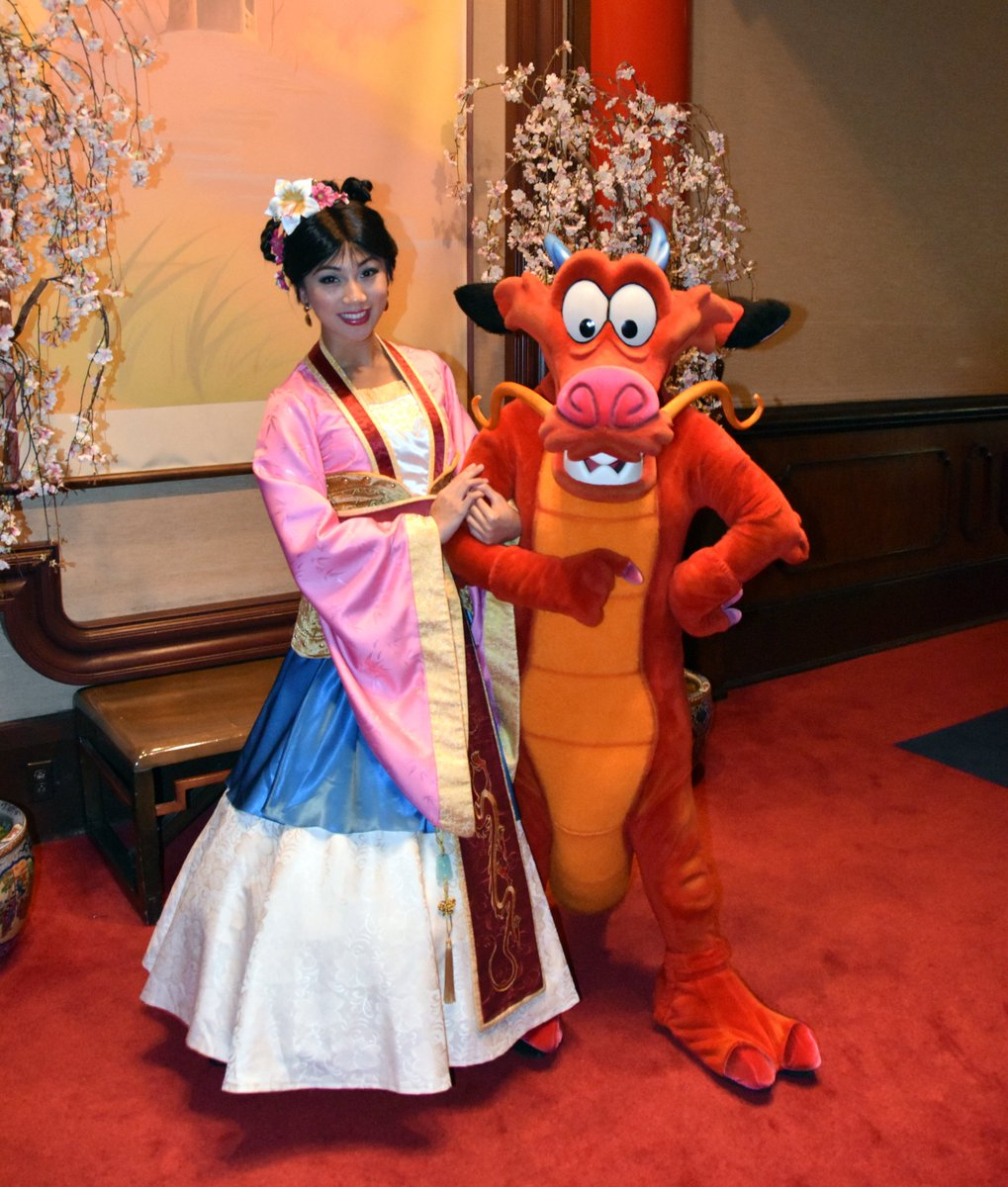 Jeff Lange On Twitter Video Mulan Mushu Meet Greet At