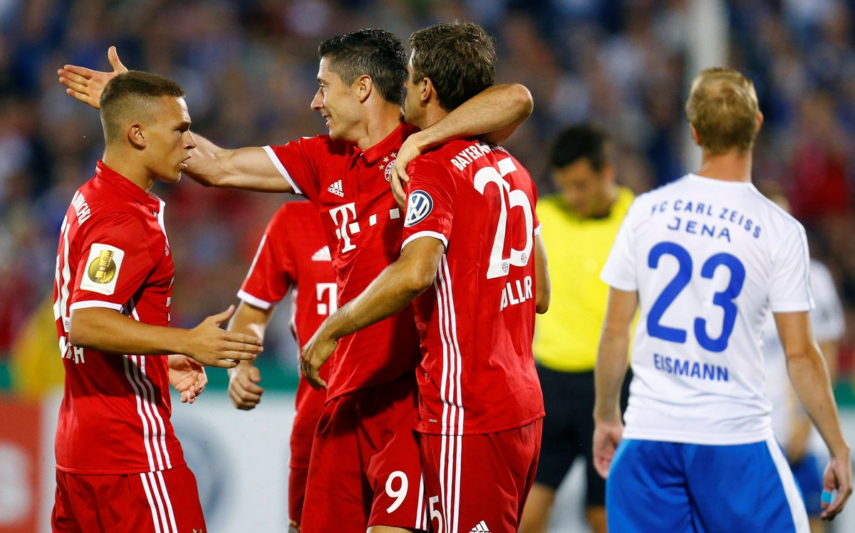 Video: Carl Zeiss Jena vs Bayern Munich