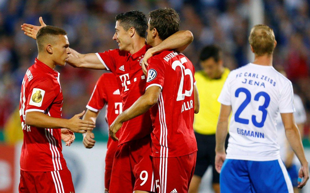 Video: Carl Zeiss Jena vs Bayern Munich