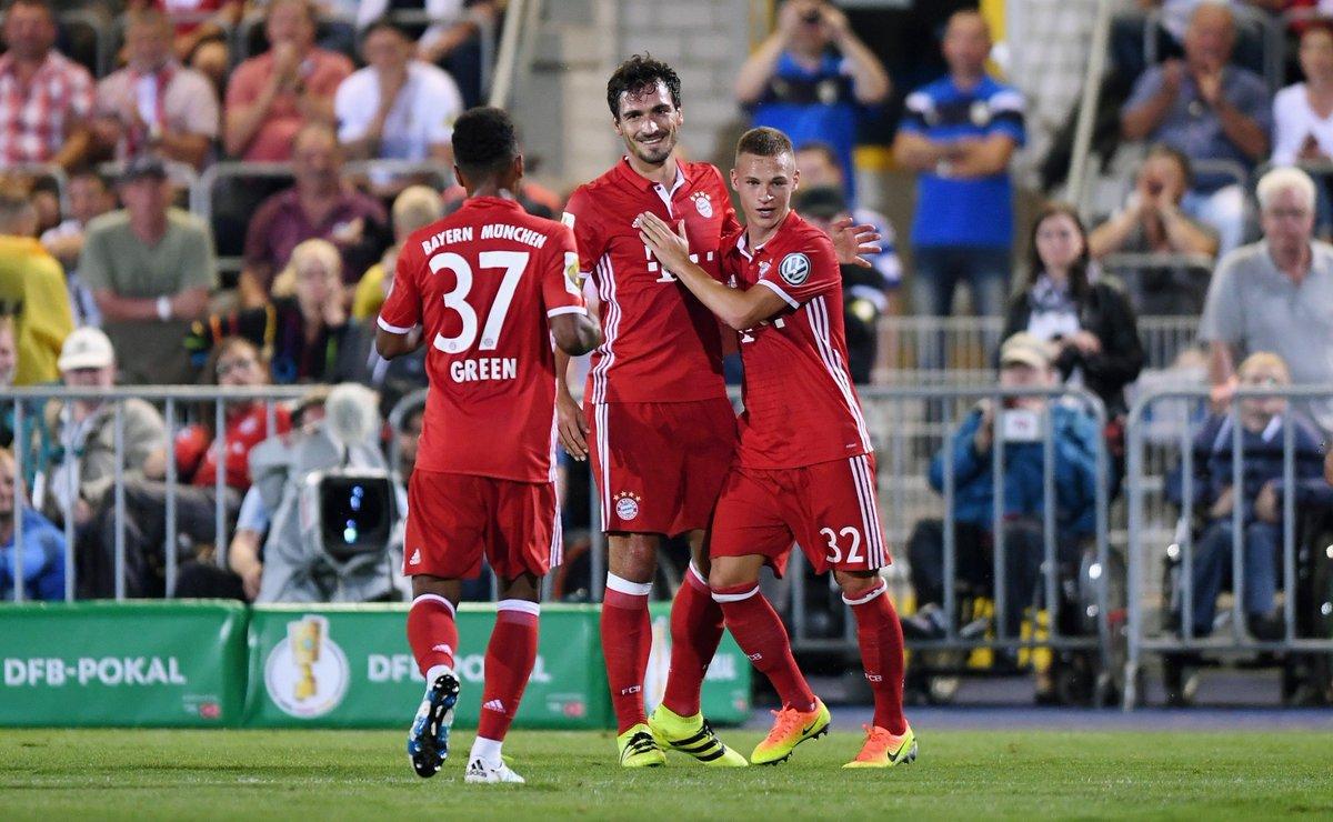 بايرن ميونخ يتأهل للدور الثاني من كأس ألمانيا بفوز كاسح على فريق من الدرجة الرابعة (فيديو)