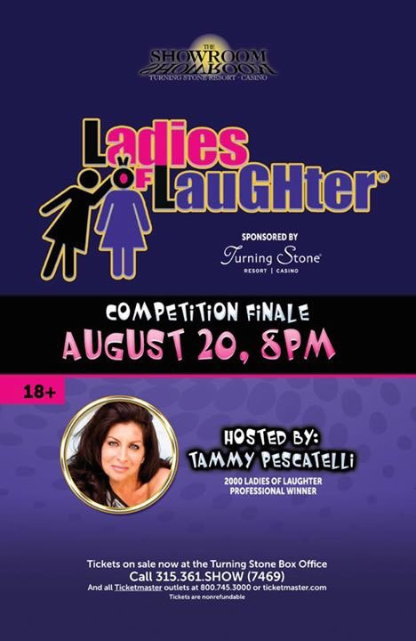 16 funny ladies 2 rock the house @LadiesOLaughter Finale, Sat 8/20 @TurningStone #comedy Host @TammyPescatelli https://t.co/KmQhCw07MX