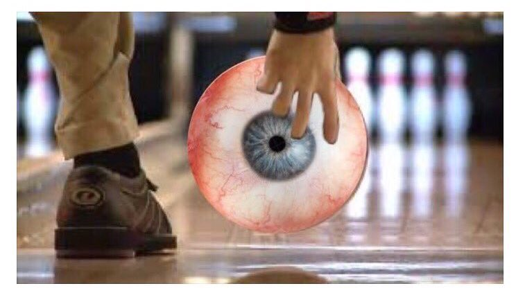 """The eye md on Twitter: """"Don't roll your eyes at me, I'm rolling out of  here-- it's #friday! #tgif #friyay #eyes #bowling #ophthalmology… """""""