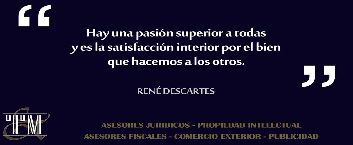 Torres Macias On Twitter Tym Frases Rene Descartes Y La