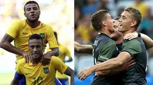 """Finale Brasile-Germania Olimpiadi Calcio: """"Hai un lavoro per me? Io ho un biglietto per te"""""""