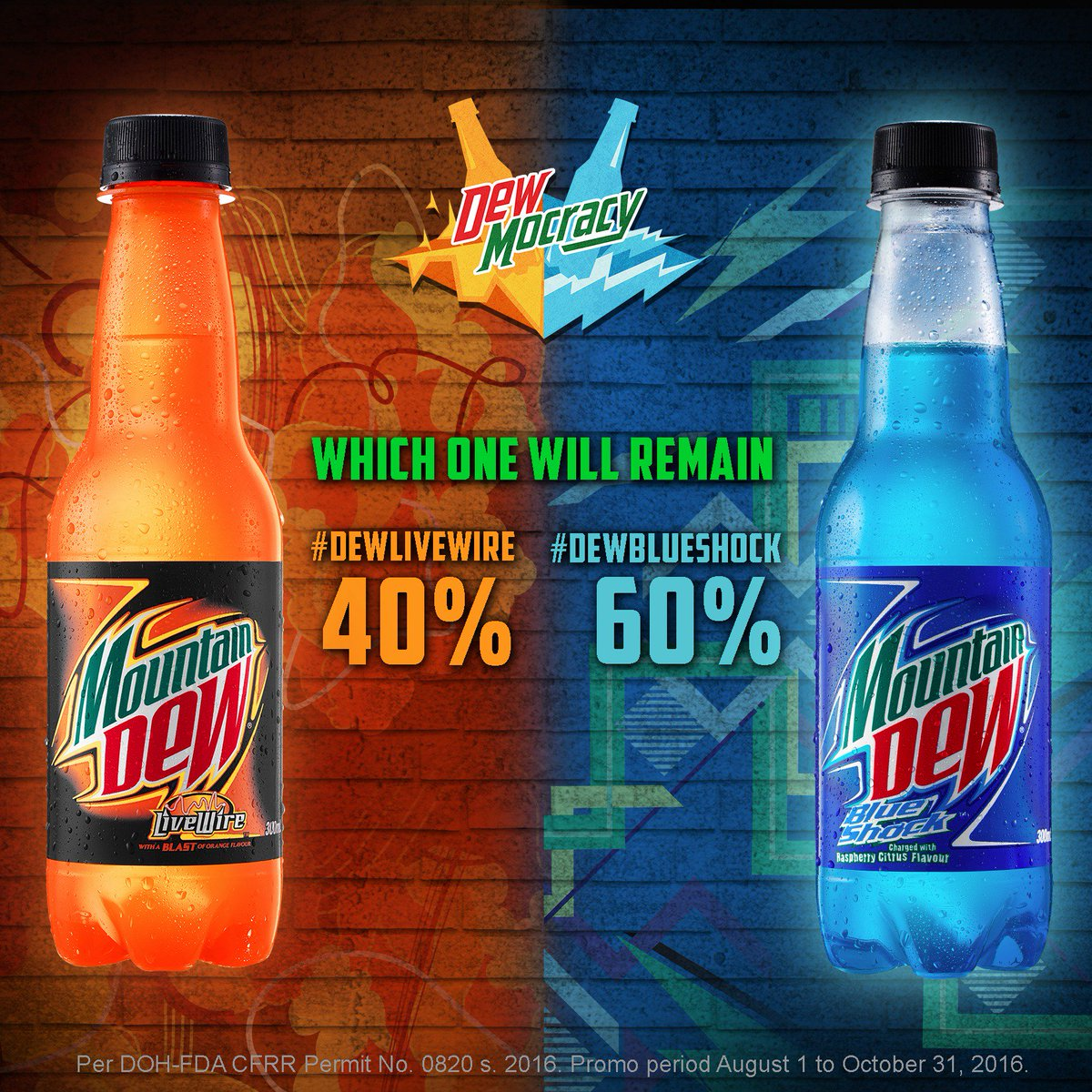 mountain dew ph on twitter vote for your chosen flavor here or on