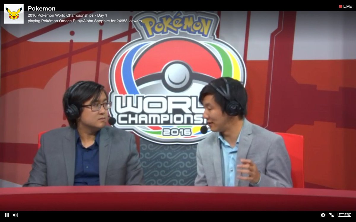 These are the guys to listen to for commentary at #Pokemon World Championships! #PlayPokemon @CybertronVGC & Duy Ha! https://t.co/TsyiTn2udn