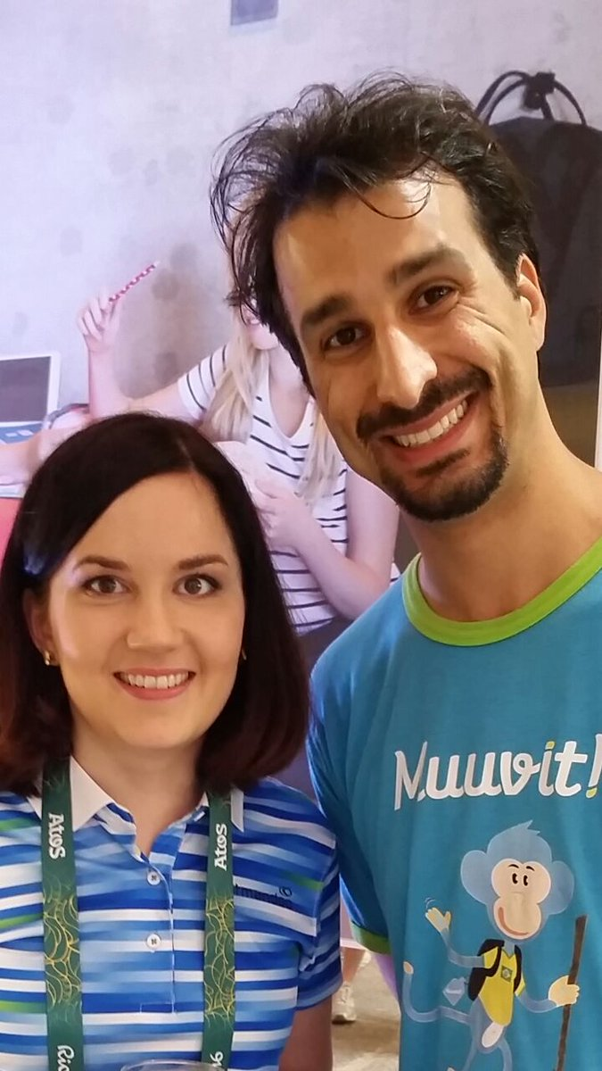 Sanni - Minister for Education of Finland - and Max - Project Manager of Muuvit Brazil discuss health and learning! https://t.co/62tkvztxUM
