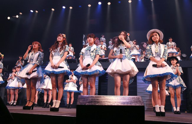 [EN] ℃-ute comments about their breakup during Nakano Sun Plaza performance https://t.co/hXn5ZtPVMN #c_ute https://t.co/zv8Q0tRZT4