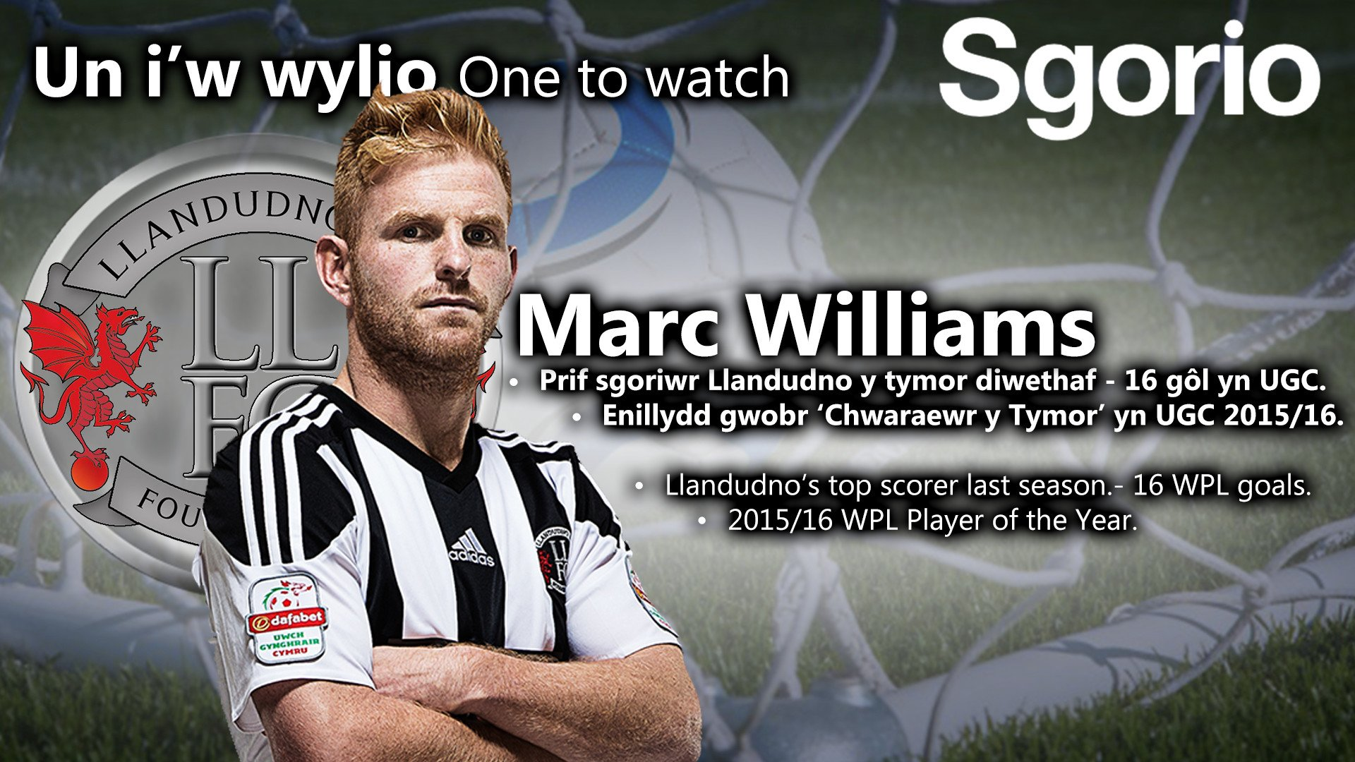 Image result for marc williams llandudno fc