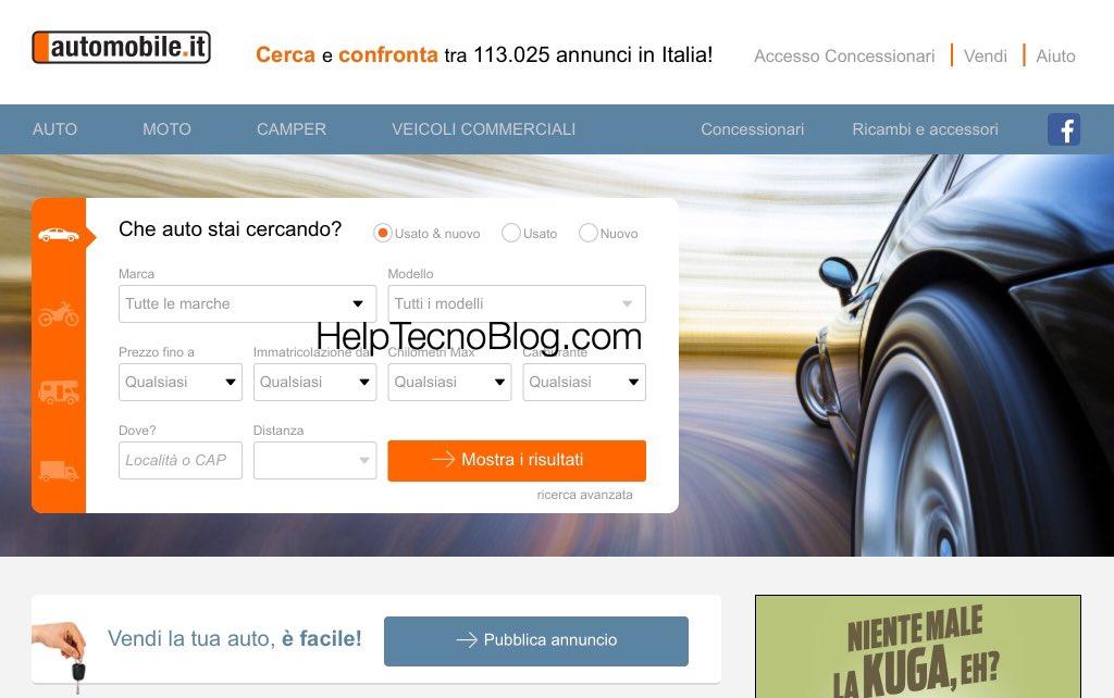 Automobile.it migliore sito per acquistare auto
