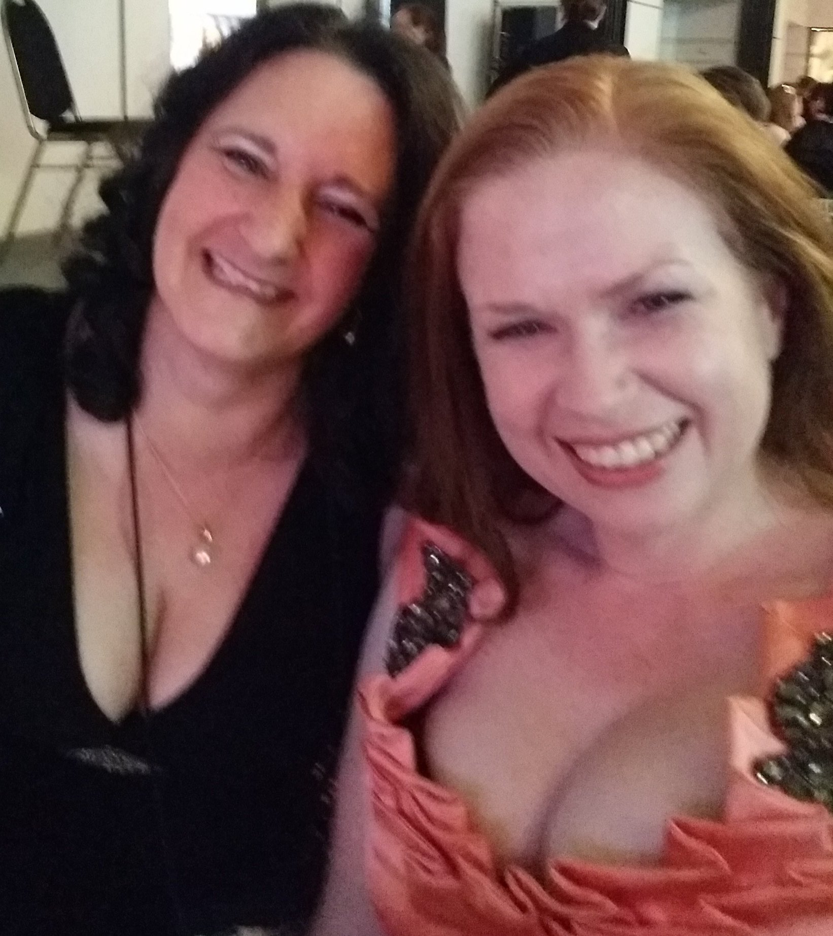 At the #RWAus16 awards dinner with @msomerswriter Good luck for the RuBY Award Michelle! #romance #writers https://t.co/BFjIPKGK3v