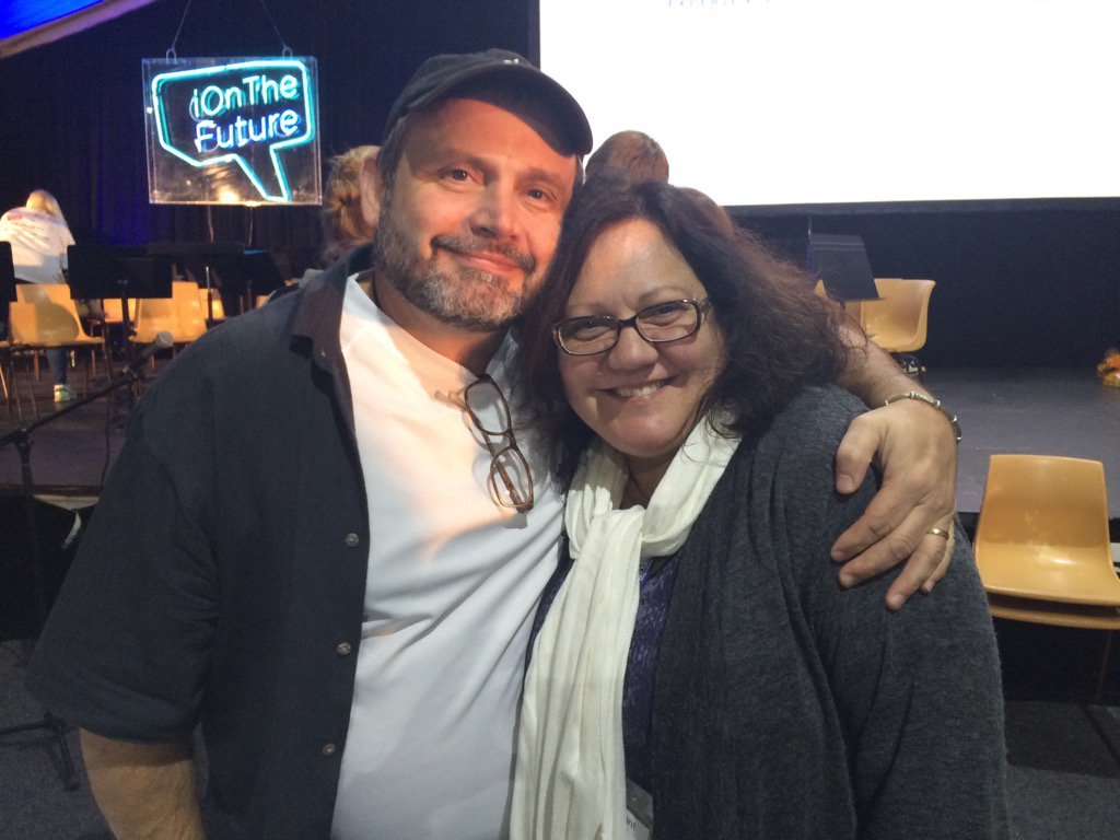 Finally catching up with Kevin in Sydney at #iOTF4 Always wonderful seeing @kevinhoneycutt connecting with everyone. https://t.co/LinfjmjVEt