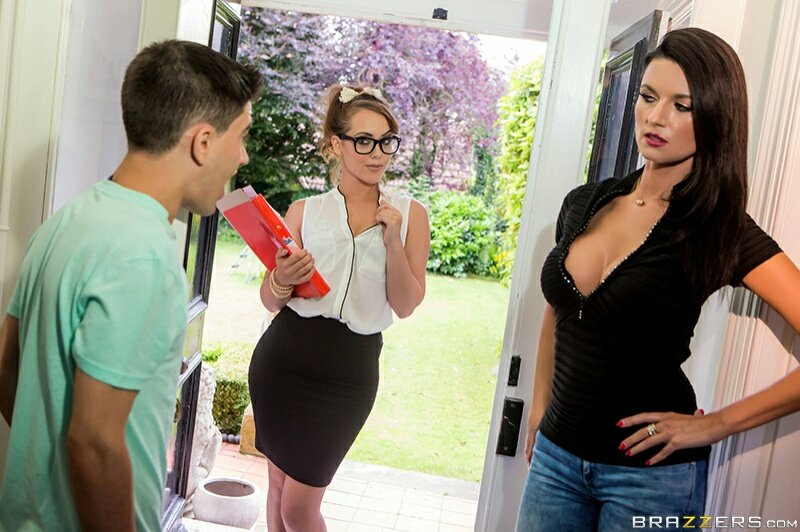 Milf lisa ann learning spanish with a huge cock in her mouth - 5 1