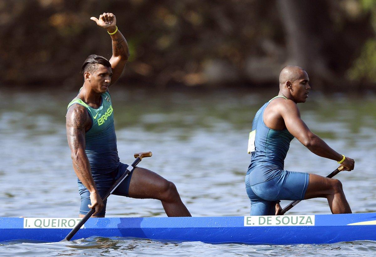 É PRATA! Isaquias Queiroz e Erlon de Souza levam mais uma medalha na canoagem! #Rio2016 #JornalOGlobo