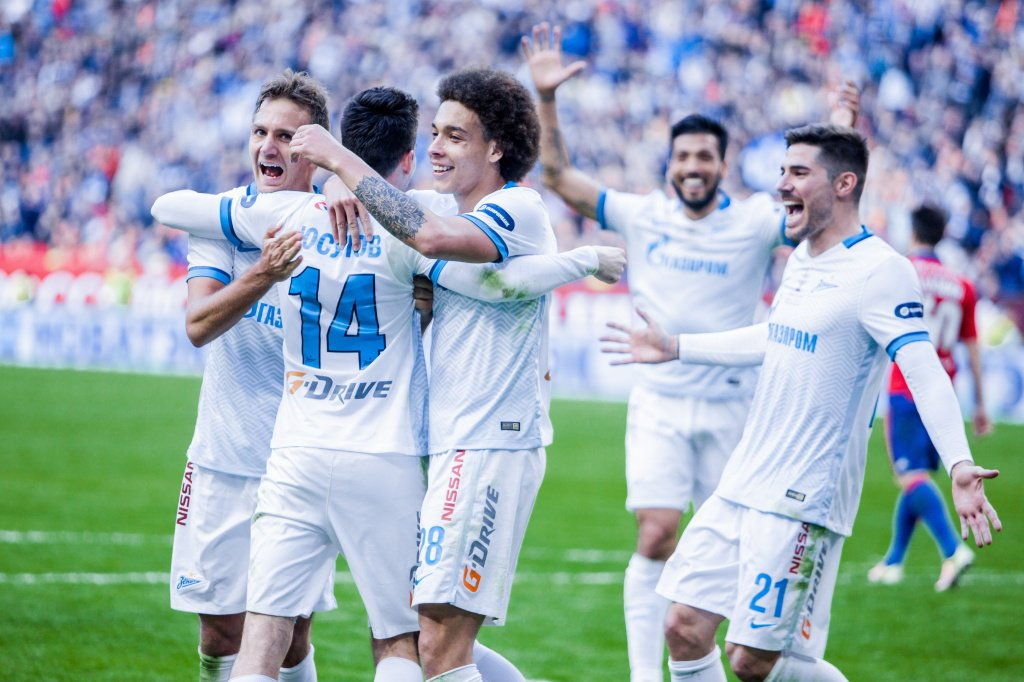 Video: Zenit vs CSKA Moskva