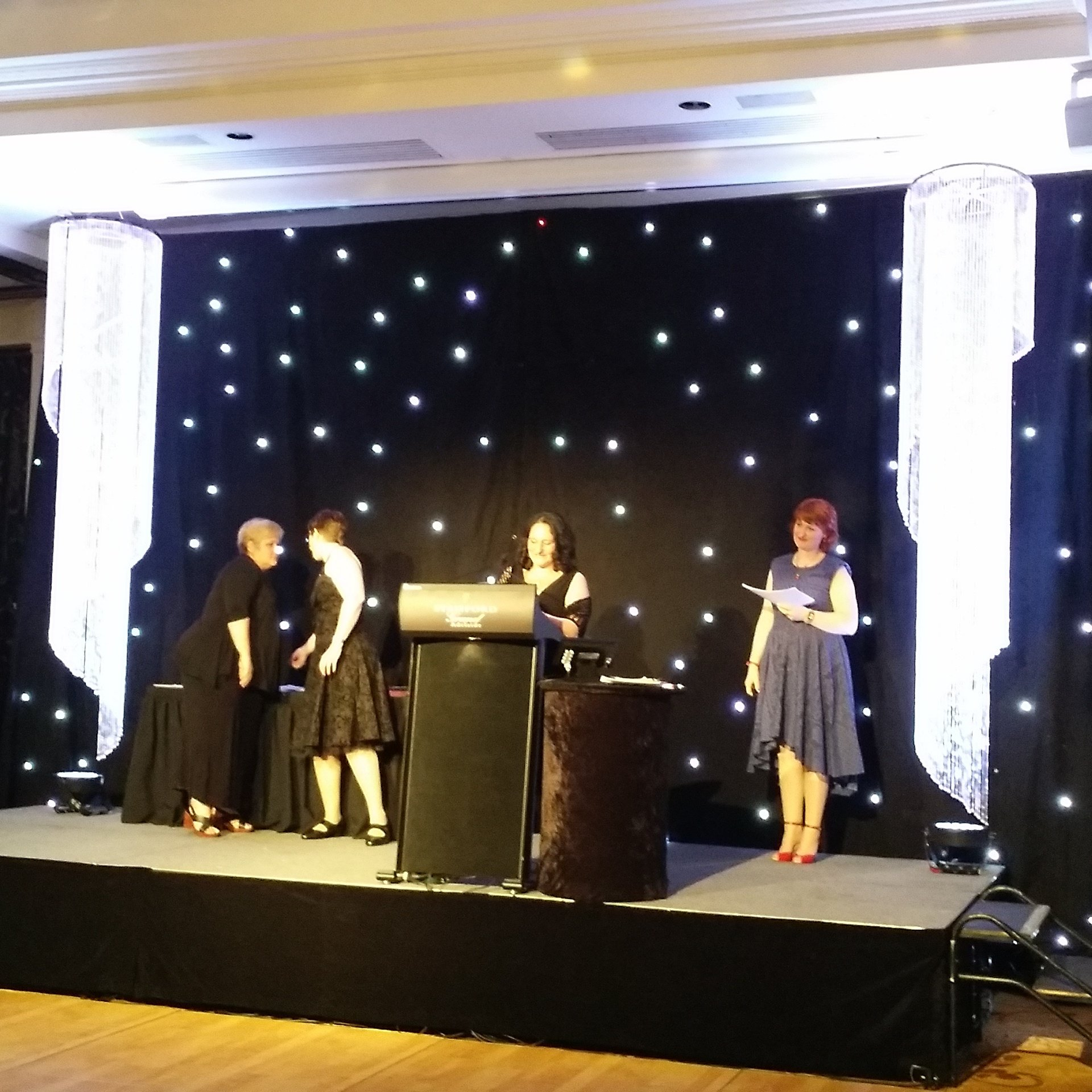 Congratulations to @msomerswriter from @TheMRWG for winning the RuBY Award! #RWAus16 #romance #writers https://t.co/13nwvRvgLW