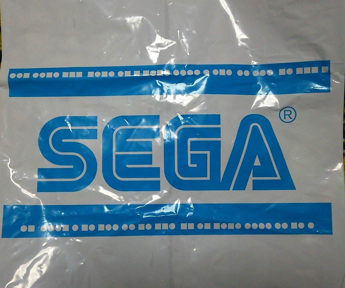 [ゲームネタ]たまたま貰ったSEGAの袋に●と■が不規則に並んでるから気になってモールス信号で調べたら[2016年8月20日]