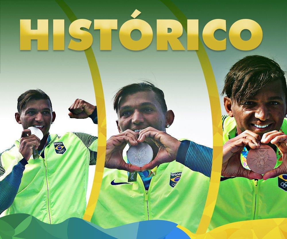 FEZ HISTÓRIA! Isaquias Queiroz é o 1º brasileiro a conquistar 3 MEDALHAS em uma edição dos Jogos! MUITO ORGULHO!