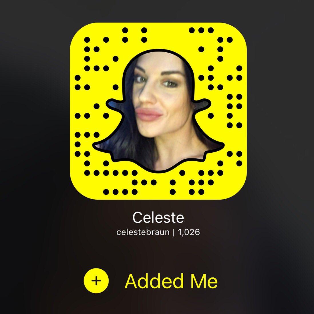 Snapchat Celeste Bonin