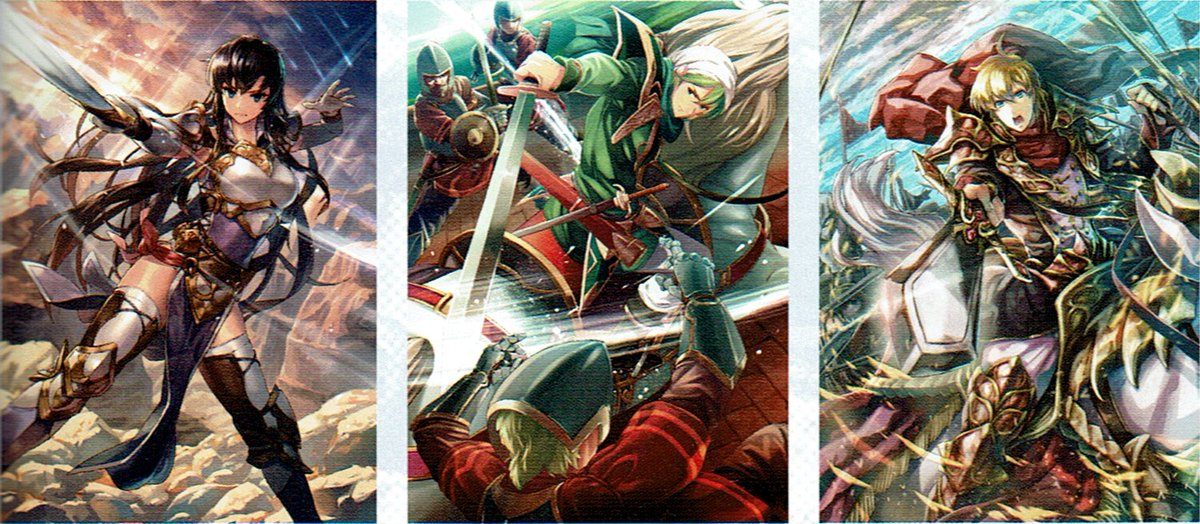 Fire Emblem Cipher Eng On Twitter From This Months Issue Of