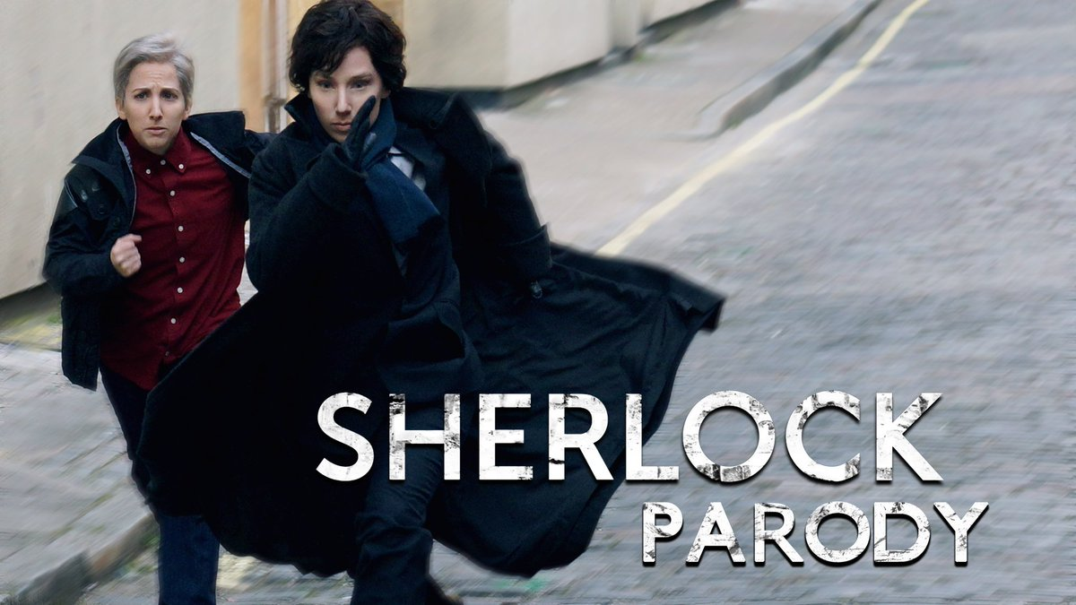 THE GAME IS ON! #SHERLOCKPARODY by @HillywoodShow has finally arrived! WATCH IT NOW: https://t.co/mywS6YPSGr