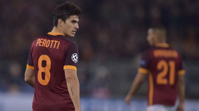 Roma Udinese 4-0 Perotti Dzeko Salah