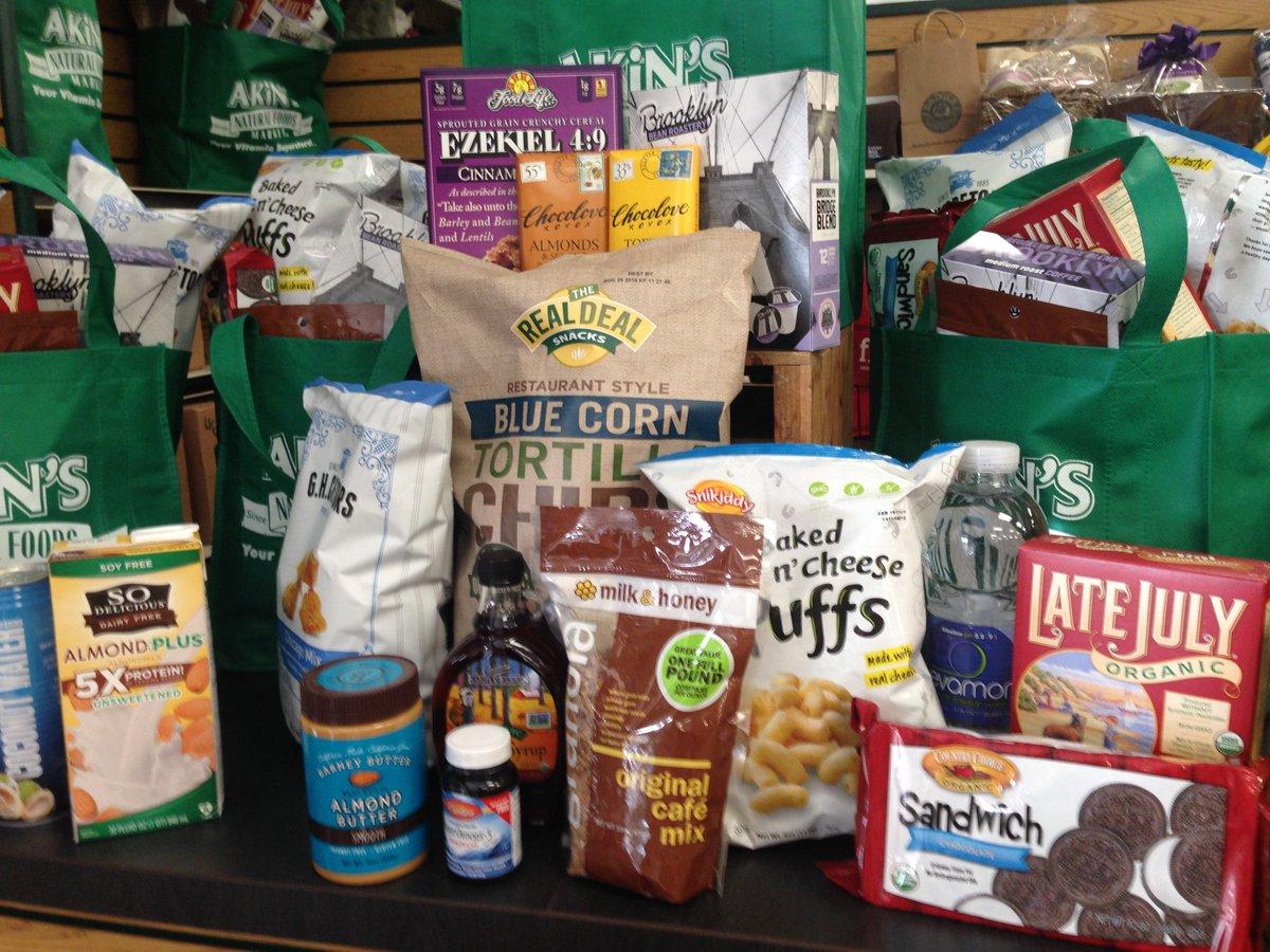 Akins Natural Foods Twitter