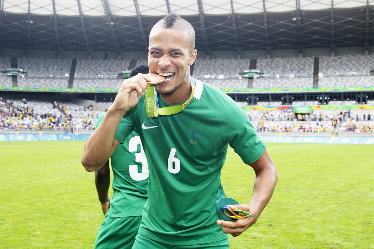 Troost-Ekong would not stop relishing his joy at winning the Olympic Men's football bronze medal; says 'I achieved my Olympic dream with Nigeria'