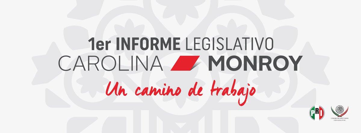 Felicidades por tu espléndido informe @CarolinaMonroy_ ejemplo del trabajo firme y decidido en favor de México https://t.co/qgIqKdXL1O