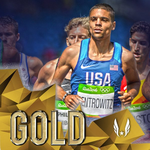 ARE YOU KIDDING, MATT CENTROWITZ?!?!?!?!  @MattCentrowitz WINS #GOLD in 3:50.00!!!! First gold since 1908!! #Rio2016 https://t.co/Z4jlnAg8rL