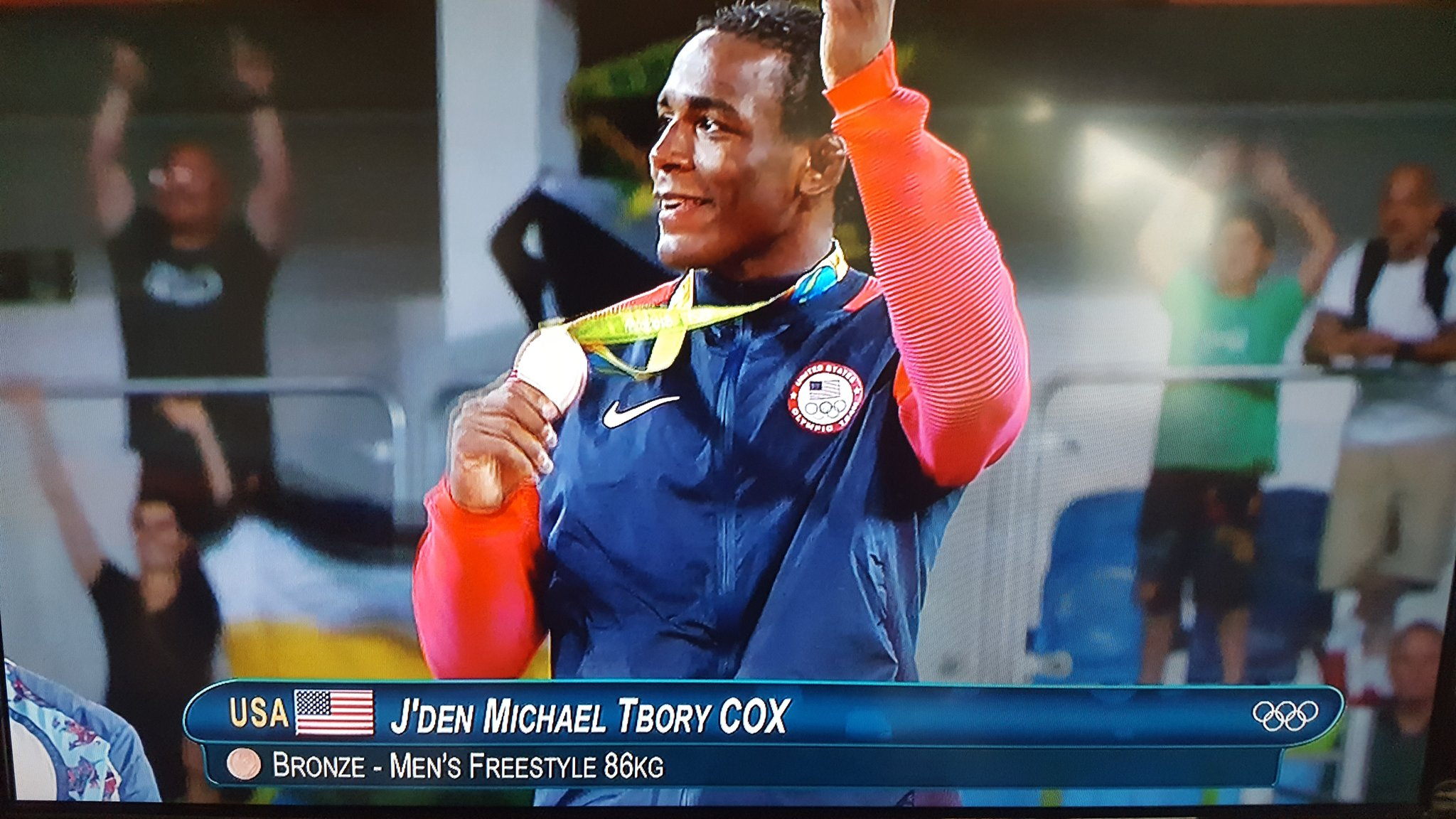 Thumbnail for Fans react: J'Den Cox wins bronze