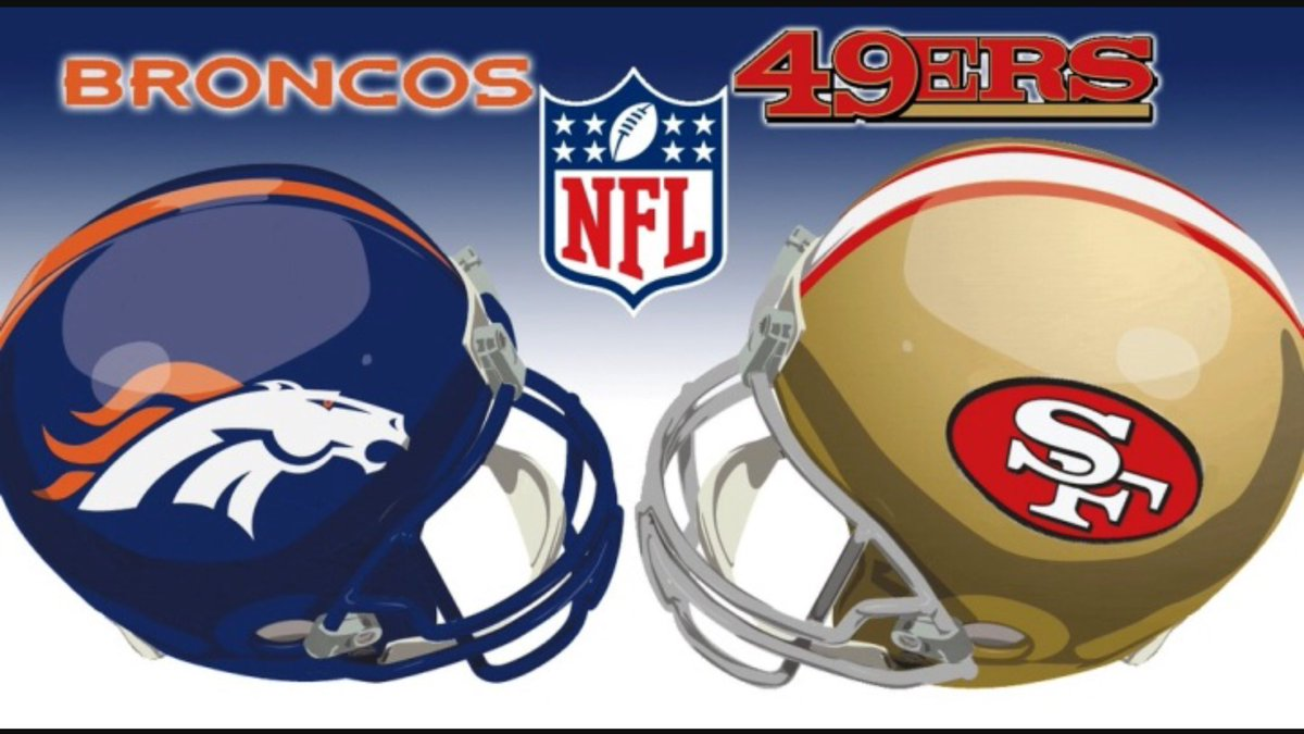 Image result for broncos vs 49ers