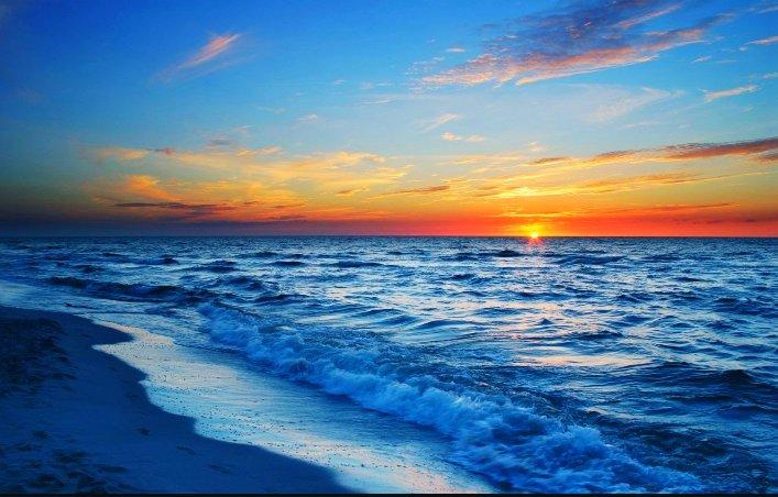 I watch the waves Each one just like a woman  Bouyant & Beautiful...