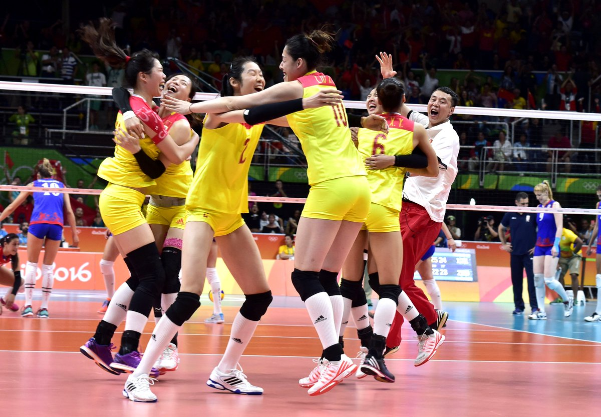 Serbia: China women volleyball team defeated Serbia 3-1 to ...