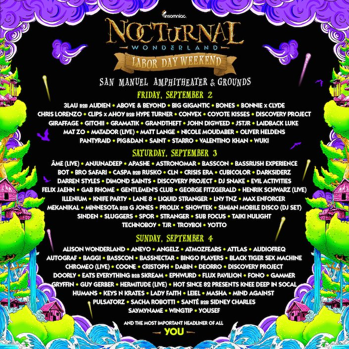 Retweet for a chance to win a pair of tickets to @NocturnalWland! Make sure you're following us! https://t.co/U2w1HF8MO4