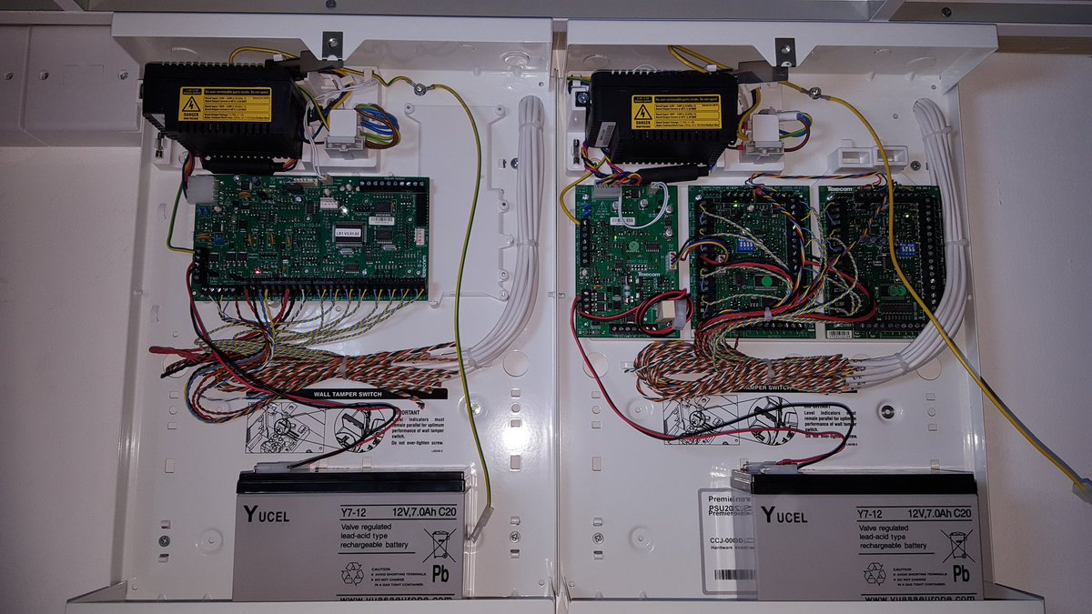 Neat Wiring Alarm Panel - Circuit Wiring And Diagram Hub •