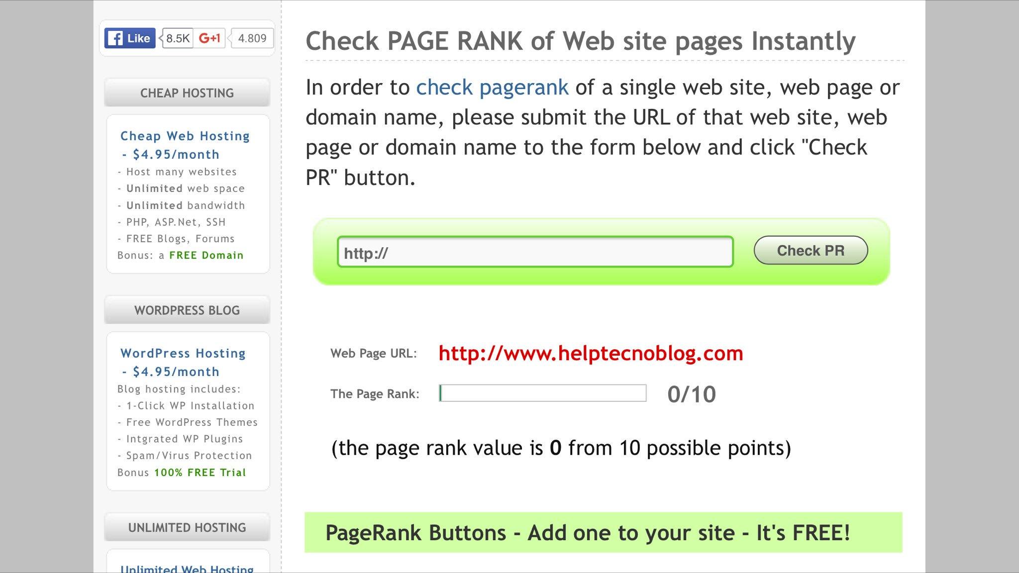 Cos'è il Page Rank