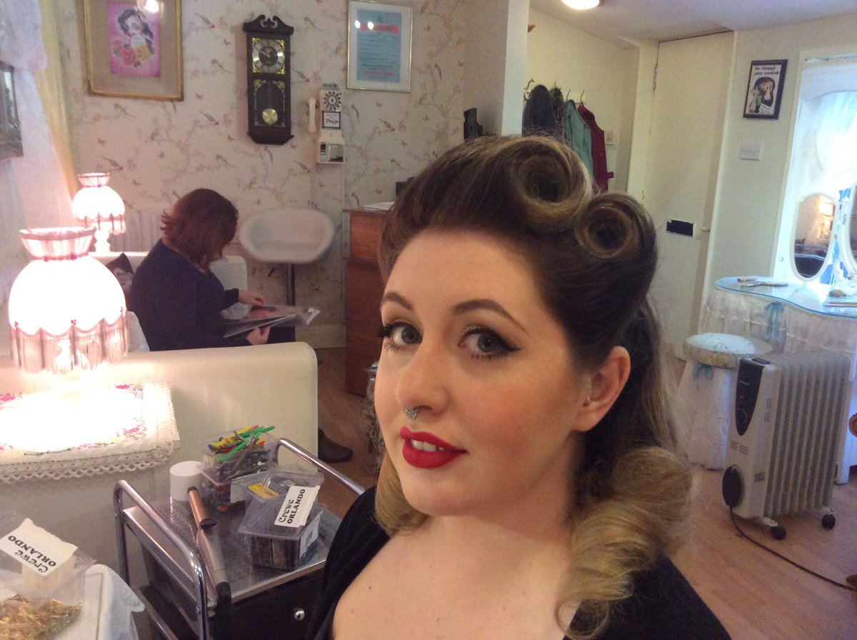 Pinups Vintage Salon On Twitter A Betty Grable 1940s Makeover