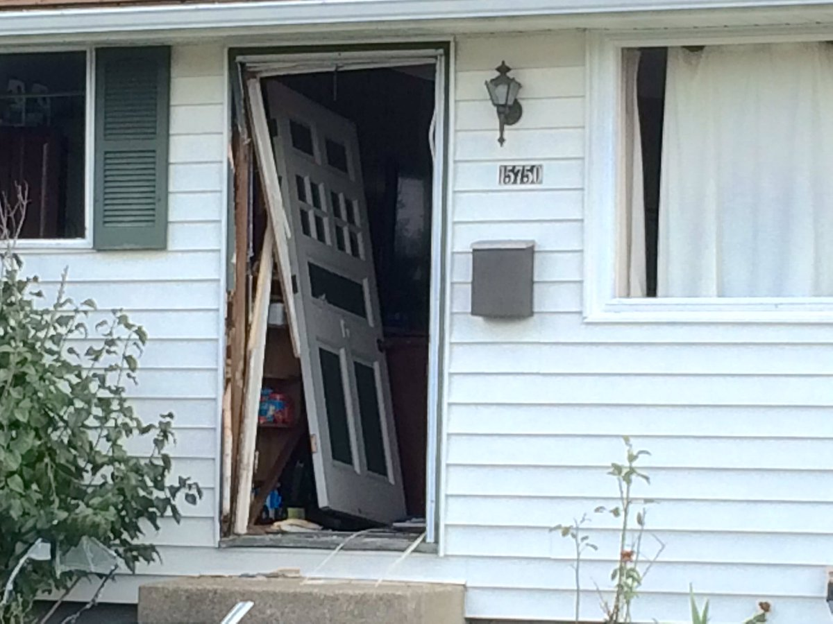 Eric S Walls on Twitter  Day after @CityofBrookPark #standoff. Door broken off hinges. @cleveland19news @ShaniceDunning @DZarrella19u2026   & Eric S Walls on Twitter: