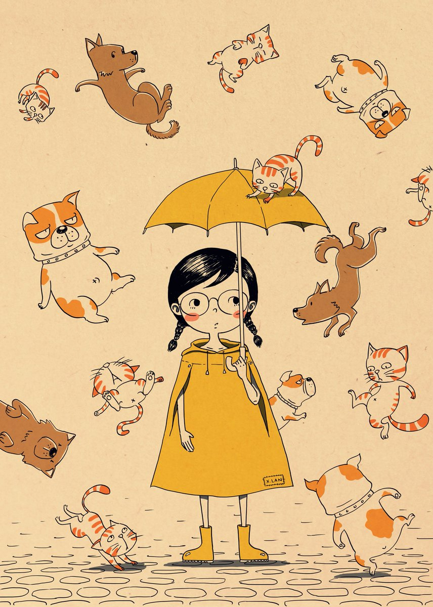 Image result for raining cats and dogs