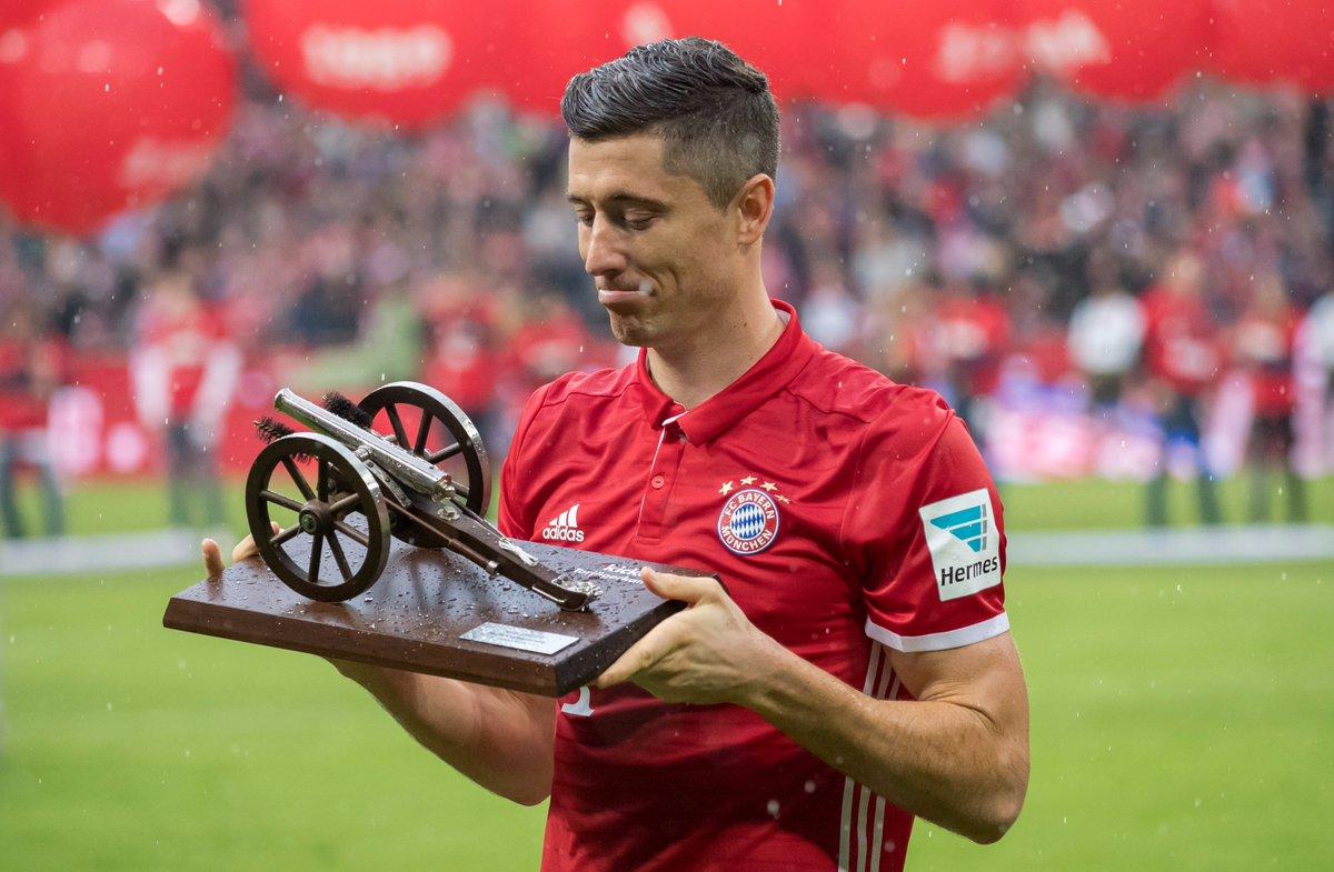 Pokud ubrání nápor Tima Wernera, stane se Lewandowski nejlepším střelcem Bundesligy i letos