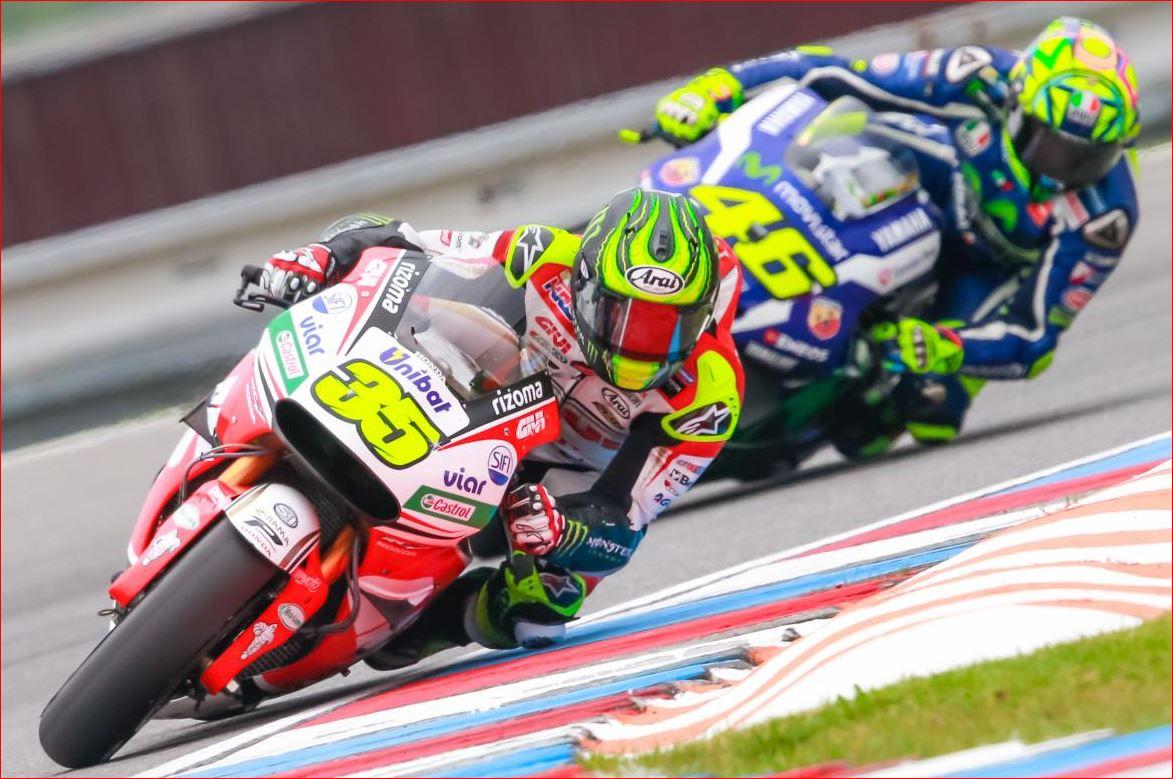 La prima volta di Cal Crutchlow in MotoGP. A Brno in Repubblica Ceca due gare in una